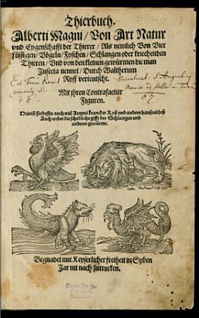 Thierbuch PDF