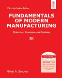FUNDAMENTALS OF MODERN MANUFACTURING  MATERIALS  PROCESSES  AND SYSTEMS  3RD ED  With CD   PDF