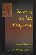 Borders  Exiles  Diasporas PDF