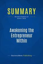 Summary: Awakening the Entrepreneur Within