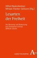 Lesarten der Freiheit PDF