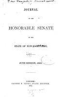 Journals of the Honorable Senate and House of Representatives of the State of New Hampshire PDF