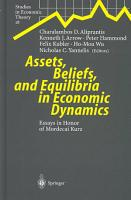 Assets  Beliefs  and Equilibria in Economic Dynamics PDF