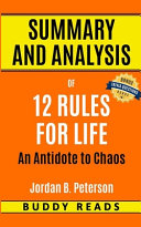 Summary   Analysis Of 12 Rules For Life By Jordan Peterson