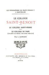 Les Fondations du Pape Urbain V à Montpellier: Volume2