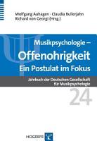Offenohrigkeit     Ein Postulat im Fokus PDF
