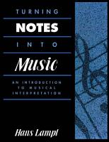 Turning Notes Into Music PDF