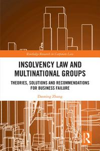 Insolvency Law and Multinational Groups PDF