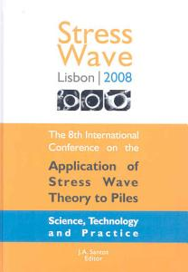 The Application of Stress wave Theory to Piles