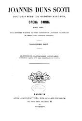 Opera omnia: Volume 19