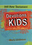 365 New Testament Devotions for Kids PDF