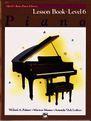 Alfred's Basic Piano Library Piano Level 6