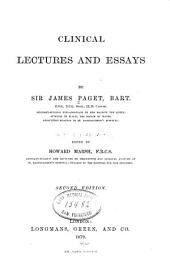 Clinical Lectures and Essays
