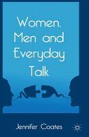 Women  Men and Everyday Talk PDF