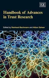 Handbook of Advances in Trust Research