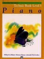 Alfred s Basic Piano Library Technic Book PDF