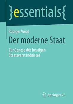 Der moderne Staat PDF