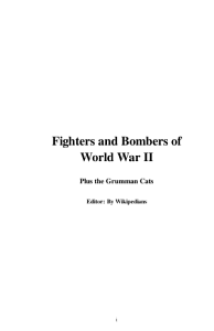 Fighters and Bombers of World War II PDF