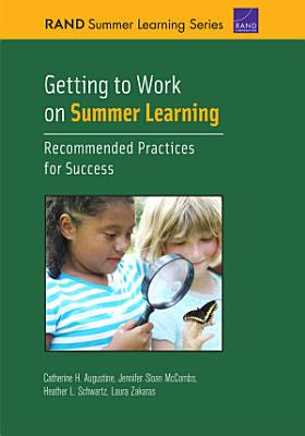 Getting to Work on Summer Learning PDF