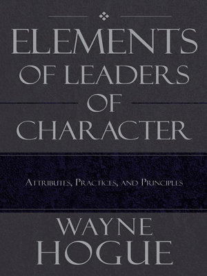 Elements of Leaders of Character PDF