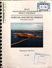 Programmatic EIS, Ford Island Development, Pearl Harbor: Environmental Impact Statement
