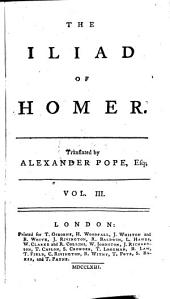 The Iliad: Volume 3