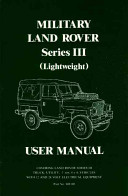 User Manual for Military Land Rover Series III (Lightweight)