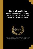 LIST OF LIB BKS REC BY THE STA PDF