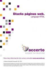 Diseño páginas web. El lenguaje HTML