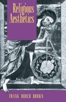 Religious Aesthetics PDF