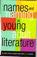Names and Naming in Young Adult Literature PDF