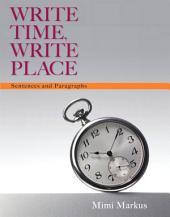 Write Time, Write Place: Sentences & Paragraphs