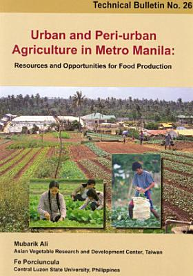 Urban and Peri urban Agriculture in Metro Manila PDF