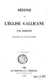 Défense de l'Église gallicane