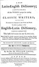 A New Latin-English Dictionary