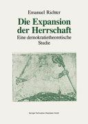 Die Expansion der Herrschaft PDF