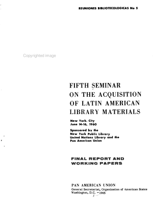 Final Report and Working Papers PDF