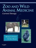 Zoo and Wild Animal Medicine Current Therapy   E Book PDF