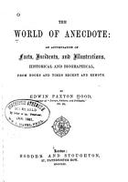 The World of Anecdote PDF