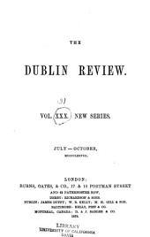 The Dublin Review: Volume 31; Volume 83