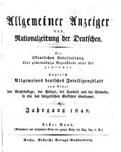 Allgemeiner anzeiger und nationalzeitung der Deutschen