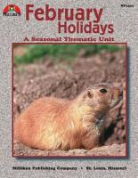February Holidays PDF