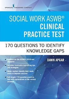 Social Work ASWB Clinical Practice Test Book