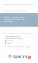 Pediatric Nurse Practitioner Certification Review Guide Access Code