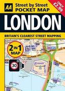 Aa 2 in 1 London Pocket Map