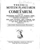 Theoria motuum planetarum et cometarum