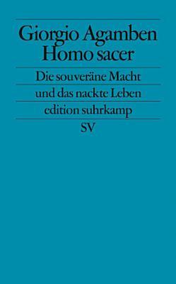Homo sacer PDF
