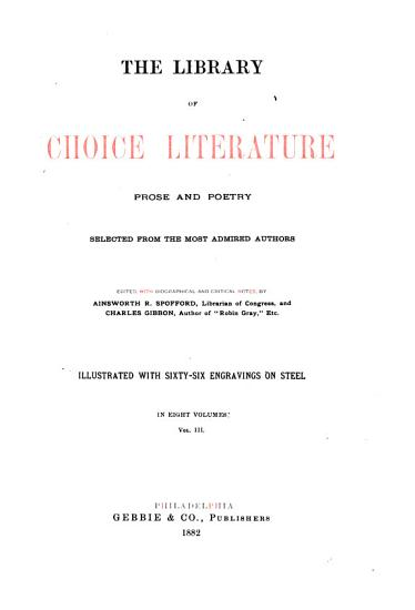 The Library of Choice Literature PDF