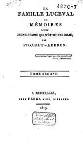La famille Luceval: Volume2