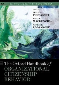 The Oxford Handbook of Organizational Citizenship Behavior PDF